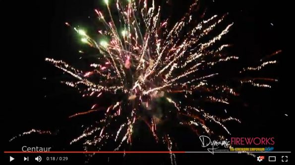 Centaur 1.3g Firework at Dynamic Fireworks London
